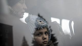 Hundreds of civilians caught up in fighting in Ukraine being evacuated