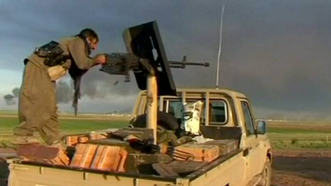 Kurd és szövetségi támadások az Iszlám Állam fegyveresei ellen