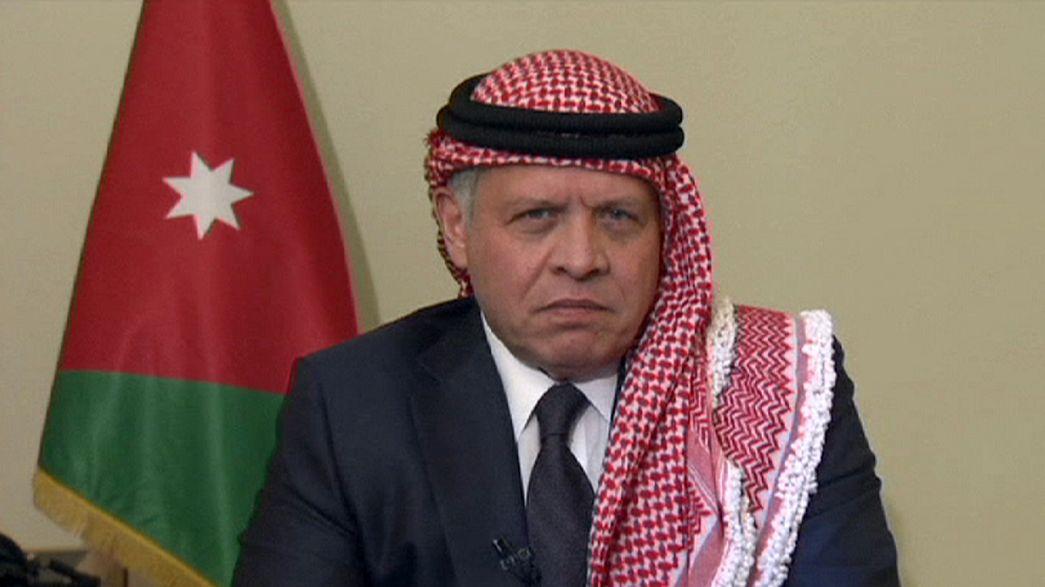 König Abdullah II von Jordanien verurteilt Mord an Piloten