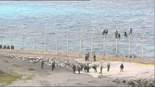 Marokko: Einwanderer wollten Grenzzaun von Ceuta überwinden