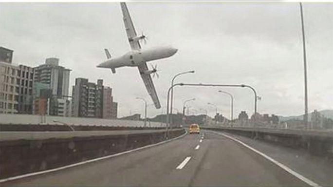 Repülőgépszerencsétlenség Tajvanon