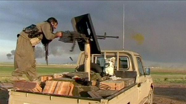 پیشروی پیشمرگه های اقلیم کردستان عراق در کرکوک