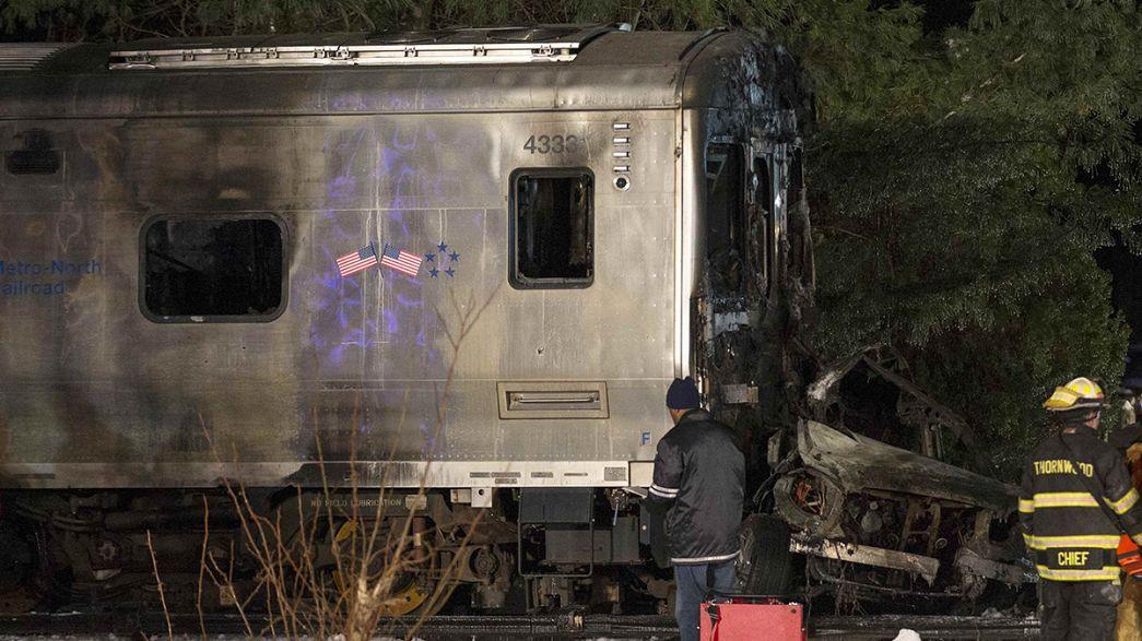 EUA: Colisão entre comboio e viatura provoca 7 mortos nos arredores de Nova Iorque