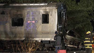 Investigation into fatal New York rush hour train collision