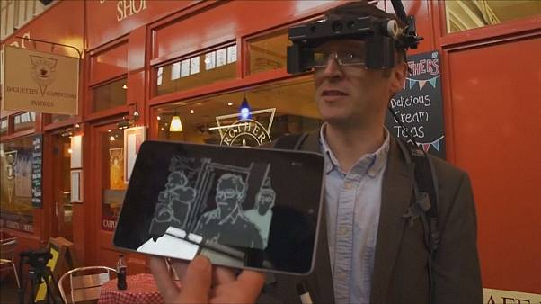 Smart glasses use 3D cameras to help visually impaired see