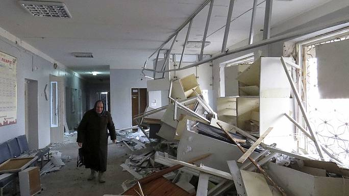 Deadly rocket attack on hospital in rebel-held Donetsk in Ukraine