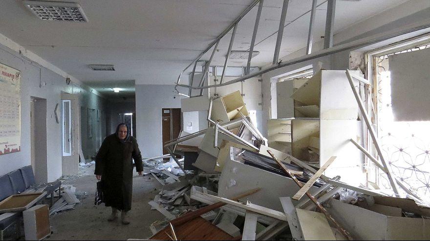 Halottjai és sebesültjei is vannak a donyecki kórházrobbantásnak
