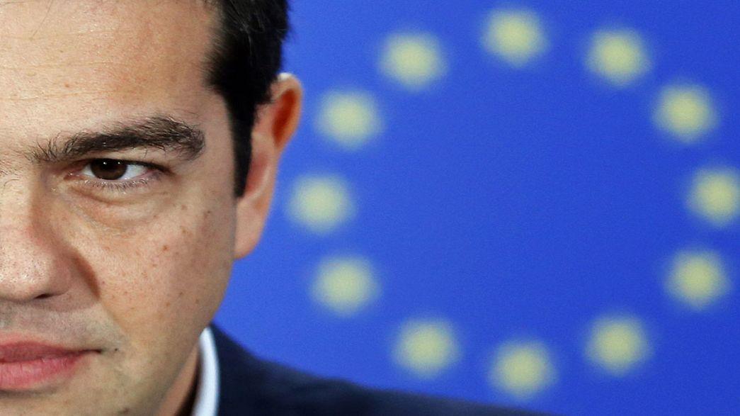 """Tsipras em Bruxelas: """"Estou muito otimista sobre encontrar uma solução"""""""