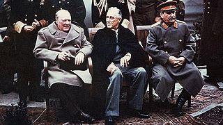Se cumplen 70 años del inicio de la Conferencia de Yalta