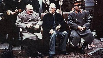 Yalta Conference began this day 70 years ago