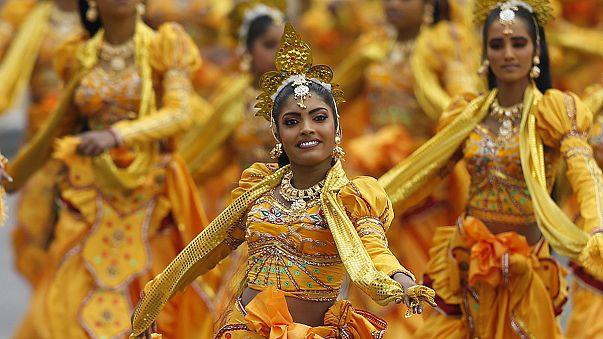 Sri Lanka'da 'birlik' vurgulu bağımsızlık günü kutlaması