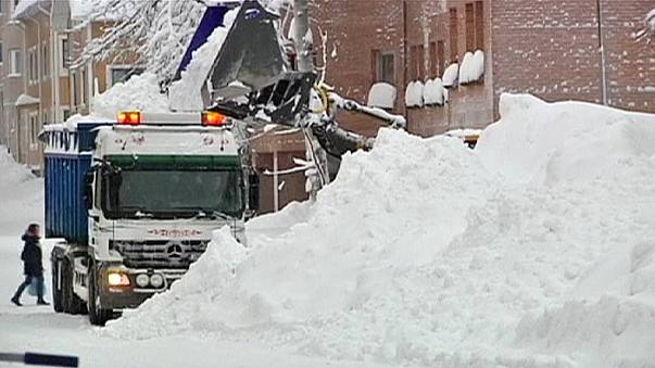 More snow in Sweden as country gets an extra deep powdering