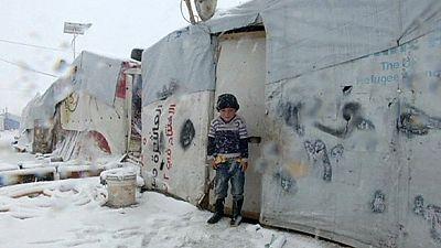 Situation désespérée pour les réfugiés syriens
