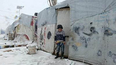 World Humanitarian Summit deplores plight of Syrian refugees as winter bites
