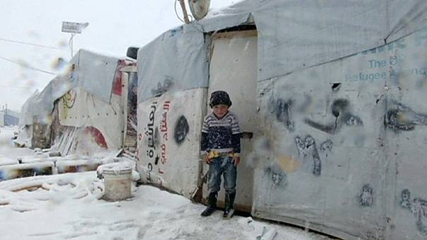 La desesperada situación de los refugiados sirios