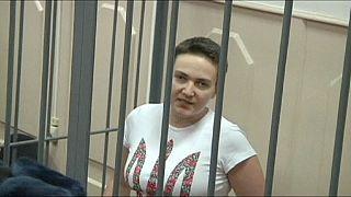 Haft in Russland: Ukrainische Pilotin bleibt im Hungerstreik