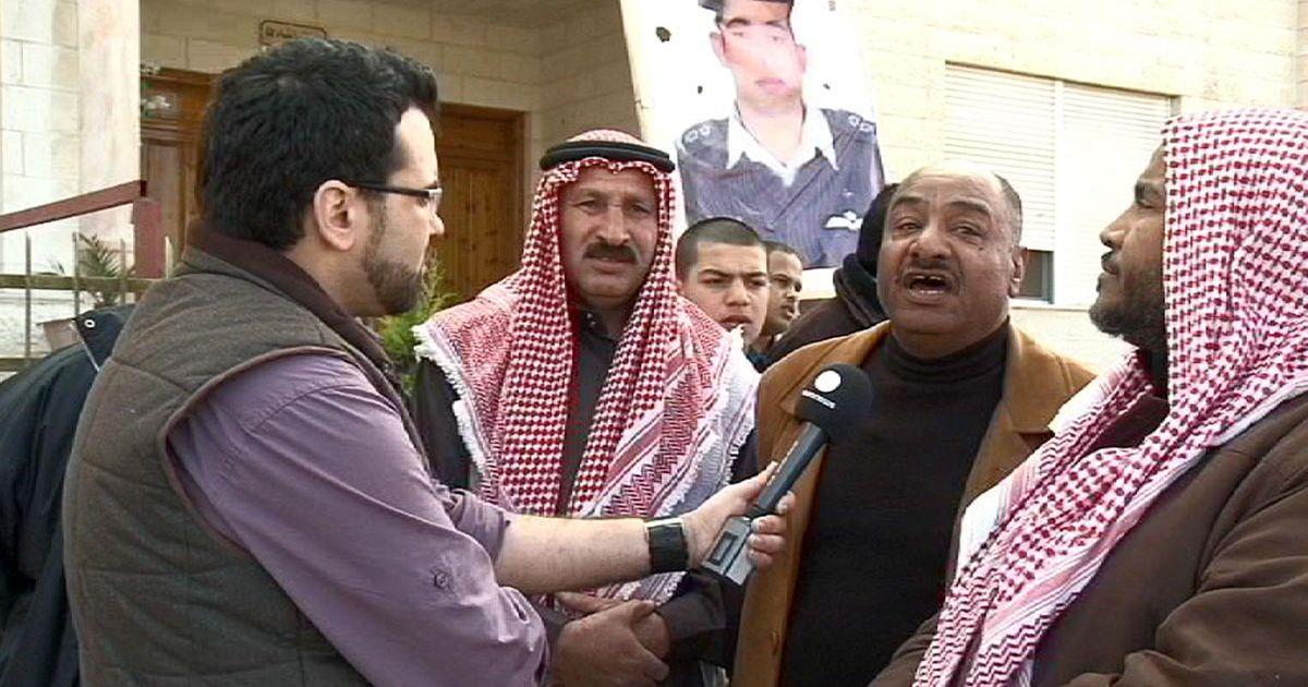 غضبٌ في الأردن وصلواتٌ على روح الطيار مُعاذ الكساسبة   euronews, العالم