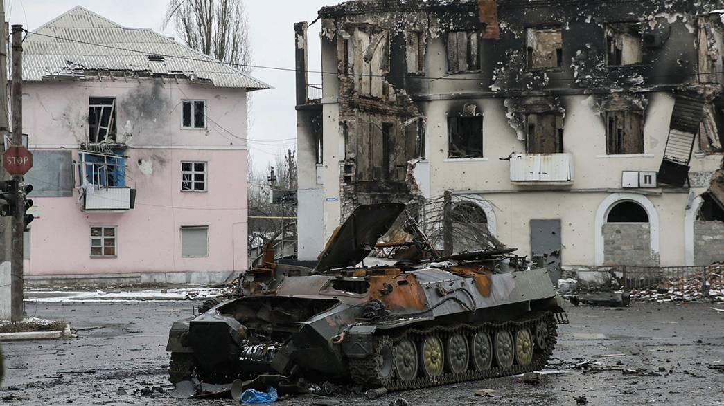 Pro-Russian rebels claim control of another Ukrainian town