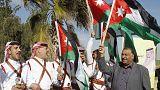 """الملك عبد الله يتعهد بحرب بلا هوادة على """"الدولة الاسلامية"""""""