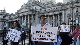 مسيرة في بيونس آيرس ضد الإفلات من العقاب