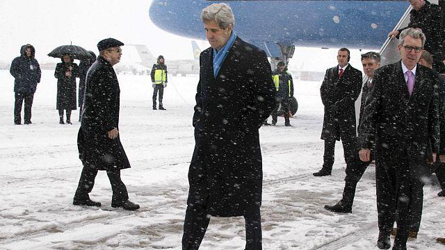 ABD Dışişleri Bakanı John Kerry Ukrayna'da