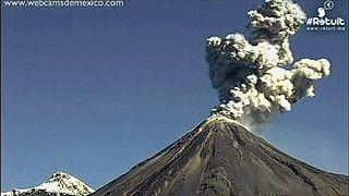Mexiko: Vulkan Popocatépetl hochaktiv