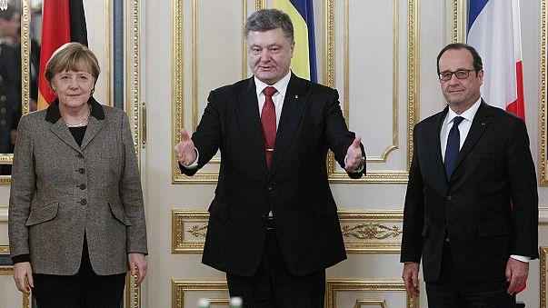 Меркель и Олланд: новый мирный план для Москвы и Киева