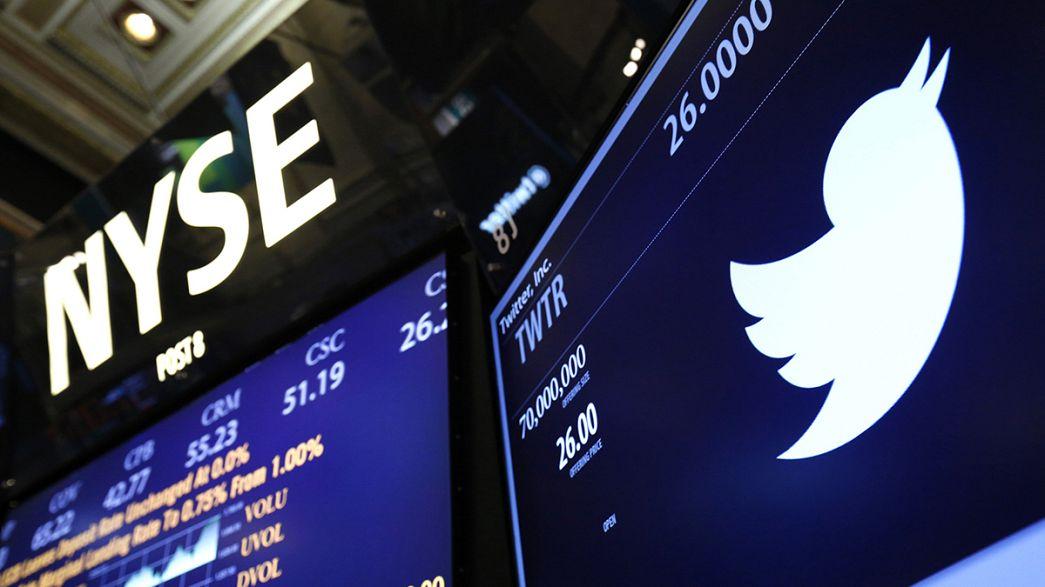 Desempenho financeiro do Twitter surpreende pela positiva