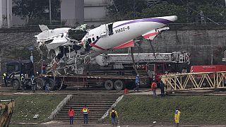 Unglücks-Ursache in Taiwan: beide Triebwerke sind ausgefallen