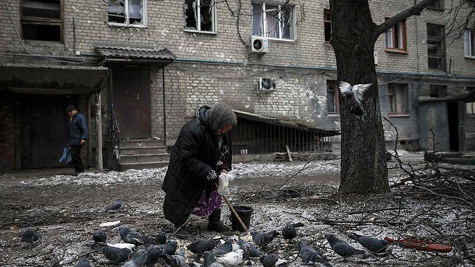 أوكرانيا: آمال سكان مدينة دونيسك في نجاح المفاوضات حول الأزمة الأوكرانية ضعيفة
