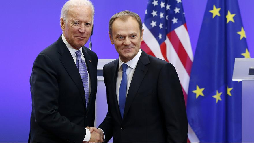 """Joe Biden: """"Russia cannot be allowed to redraw the map of Europe"""""""
