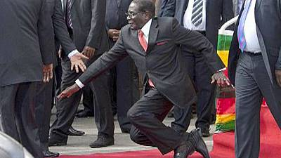 Robert Mugabe's downfall sparks social media storm