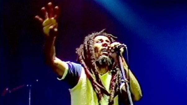 Bob Marley fans celebrate the 70th anniversary of his birth