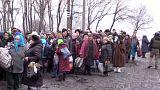 Ukraine-Krise: Zivilisten flüchten durch humanitären Korridor