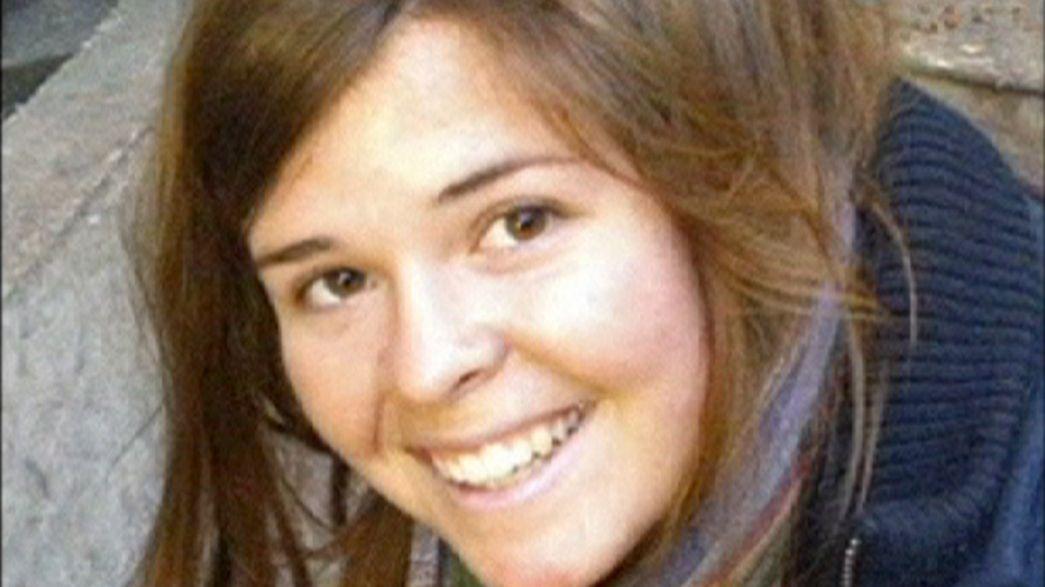 Weibliche US-Geisel in IS-Hochburg Rakka getötet?