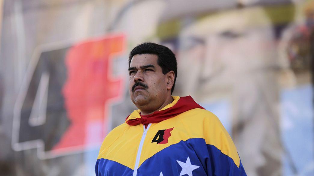 Nicolas Maduro invite Alexis Tsipras au Venezuela
