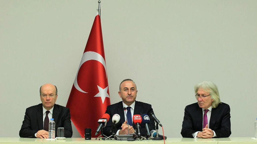 Türkiye'den İsrail'e protesto