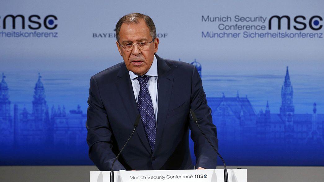 Lavrov, más optimista que Merkel y Hollande