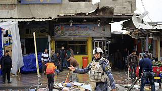 Viele Tote bei Anschlagsserie in Baghdad