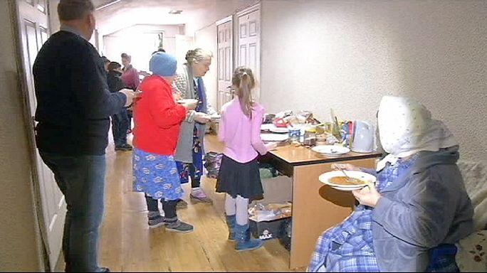 Internally displaced Ukrainians seek sanctuary in Kyiv