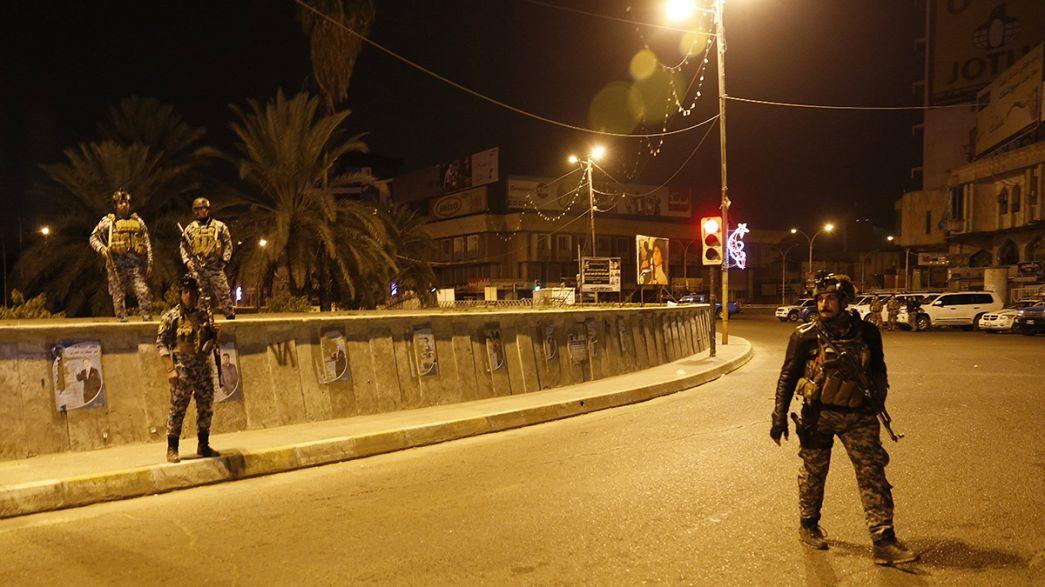 Feloldották az éjszakai kijárási tilalmat Bagdadban