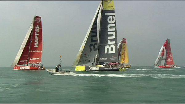 چهارمین مرحله از مسابقات قایقرانی «ولوو» آغاز شد