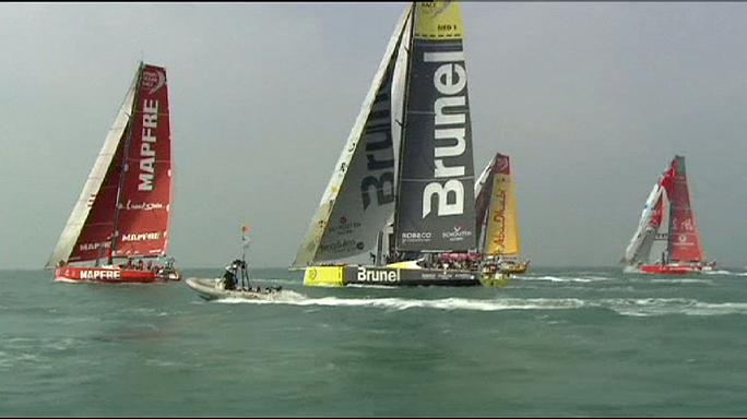 Volvo Ocean Race: Caudrelier's men set the early pace