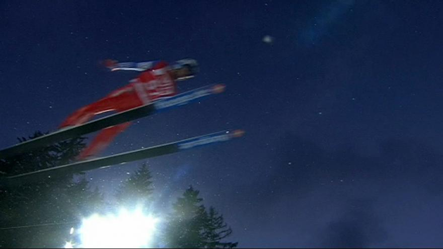 """Skispringen: Severin Freund mit """"Übergewicht"""""""