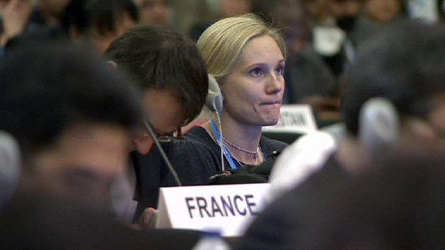 إفتتاح مؤتمر التغير المناخي في جنيف