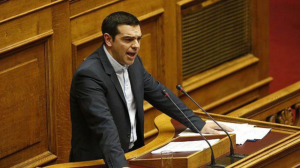 Tsipras presenta su hoja de ruta ante el Parlamento