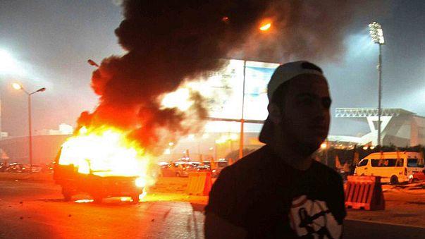 Tucatnyi halott egy kairói focimeccsen