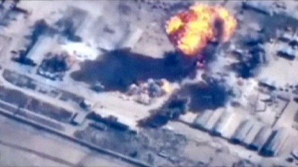 تشدید حملات نیروی هوایی اردن علیه مواضع داعش