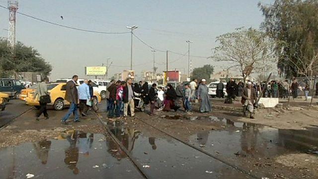 قتلى وجرحى بإنفجارين في بغداد التي رفعت حظر التجول ليلاً