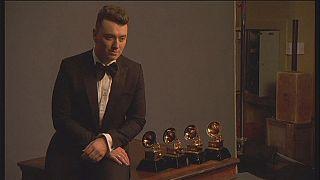 Sam Smith: o grande vencedor dos prémios Grammy